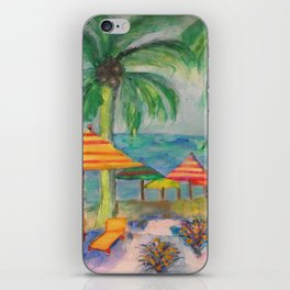 Cozumel A Day At The Beach iPhone Skin