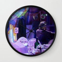 Slow Smooch Wall Clock