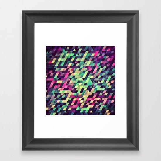 xquyzytt lyss Framed Art Print