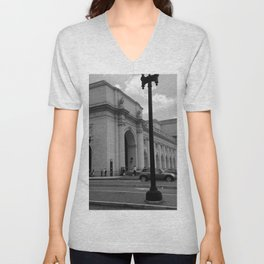 Union Station, No. 1 Unisex V-Neck