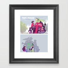 Style > Substance Framed Art Print