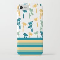 coconut wishes iPhone & iPod Cases featuring Coconut by Gabriela Souza