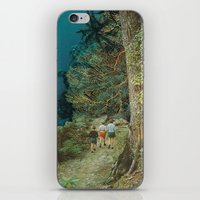 wander iPhone & iPod Skins featuring Wander by leafandpetal