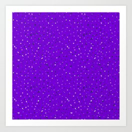 Speckles II: Purple Art Print
