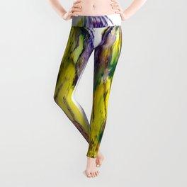 Purple Butterfy Leggings