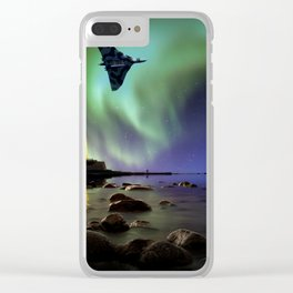 Auroral Splendour For The Vulcan Clear iPhone Case