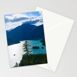 Diablo Lake Stationery Cards