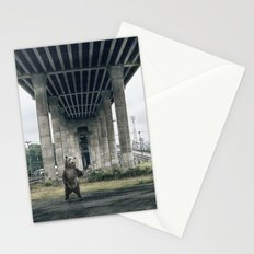Bear sighting Stationery Cards