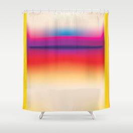 Tall Rothko Shower Curtain