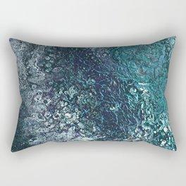 Earth Topography Rectangular Pillow