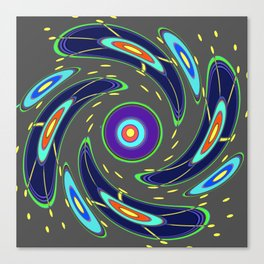 Stormy turbulence Canvas Print