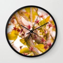 China Blossom Wall Clock