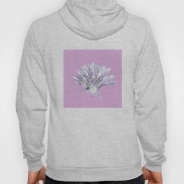 Flower | Pink Chive Floral | Nadia Bonello Hoody