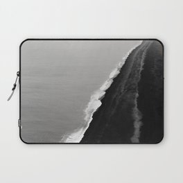 Black Sand Beach, Iceland Laptop Sleeve