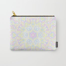 Pastel Kaleidoscope 1 Carry-All Pouch