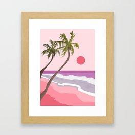 Tropical Landscape 01 Framed Art Print