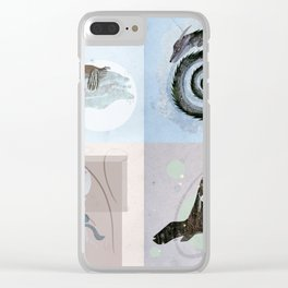 Photo Montage - Collection Clear iPhone Case