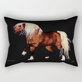 HORSE - Black Forest Rectangular Pillow