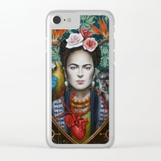 Frida Clear iPhone Case