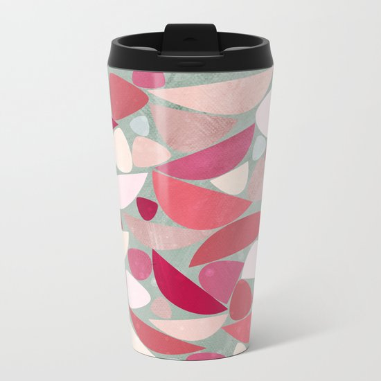 Sea Bed Metal Travel Mug