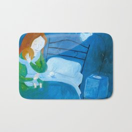 the hug Bath Mat