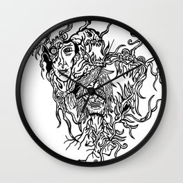 Melancholic Wall Clock