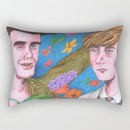 Sebastian, It Was Really Nothing Rectangular Pillow