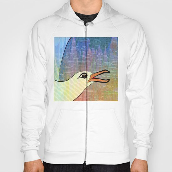 On the Cliffs with Jonathan Livingston Seagull Hoody