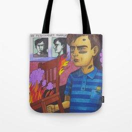 Twisted Firestarter Tote Bag