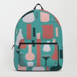 Laboratory Glassware Pattern No. 1 Backpack