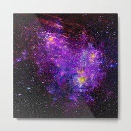 Nebula Tantra Metal Print