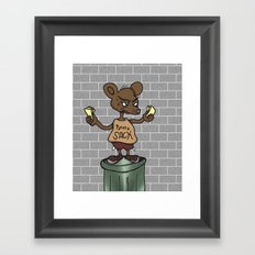 Nothing but Chedda Framed Art Print