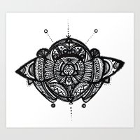 vector Art Prints featuring Vector by Mighty Truth