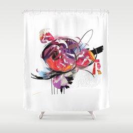 MagiColor Flower Shower Curtain