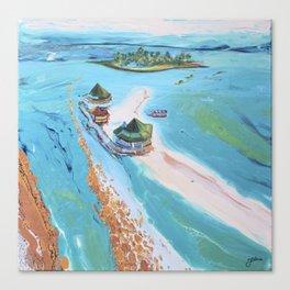 El Acuario  Canvas Print