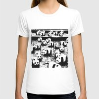 animal crew T-shirts featuring Crew by Panda Cool