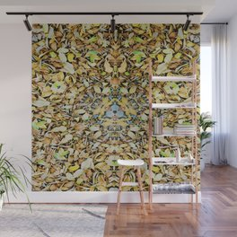 A Circle of Leaves Wall Mural