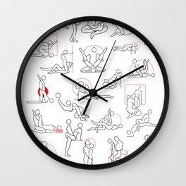 Kamasutra Cute I Wall Clock