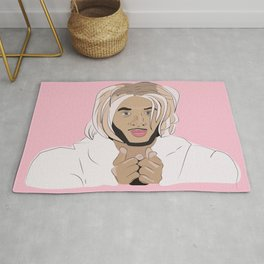 messy bitch who lives for drama Rug