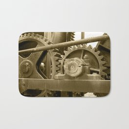 Heavy machinery Bath Mat