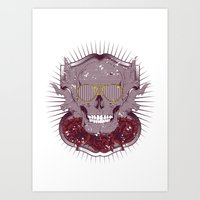 disco Art Prints featuring Disco by Tshirt-Factory