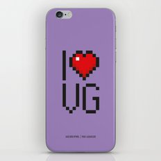 PAUSE – I Love Video Games iPhone & iPod Skin