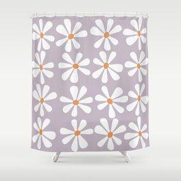 Kawaii flowers Shower Curtain