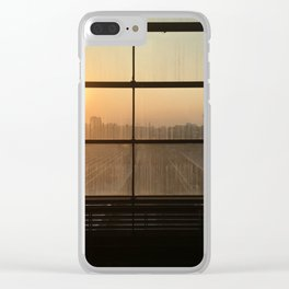 Sunset over Berlin Clear iPhone Case