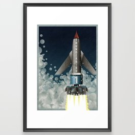 Thunderbird 1 Framed Art Print