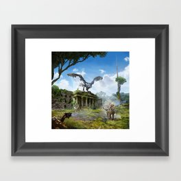 Dublin [Horizon Zero Dawn] Framed Art Print