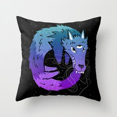 Oroboros Throw Pillow