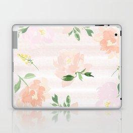 Gigi Collection - Peach Peony Laptop & iPad Skin