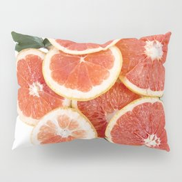 Grapefruit & Roses 01 Pillow Sham