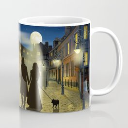 Romantic evening walk Coffee Mug